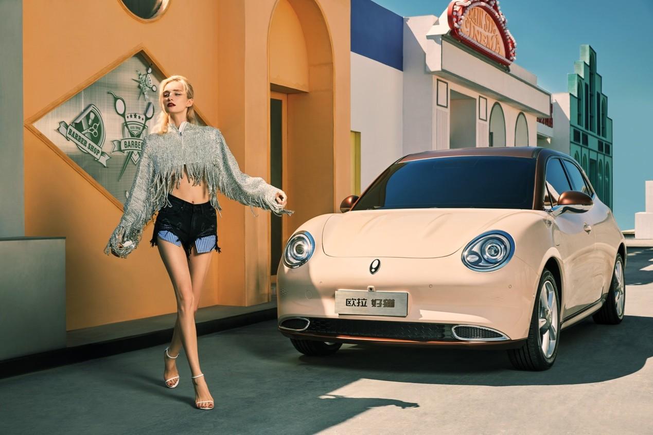 """""""吃软饭""""的欧拉,用这两款车在上海车展上宠粉-第1张图片-汽车笔记网"""