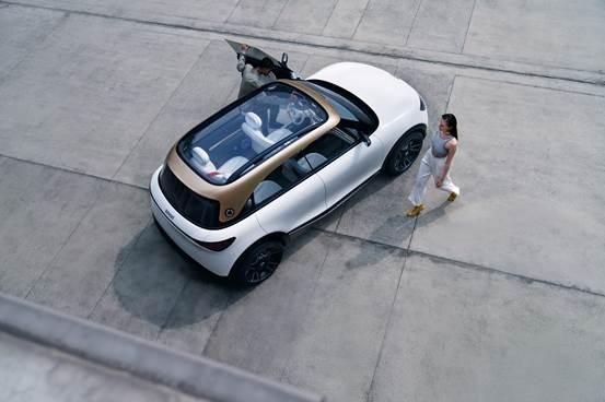 """全新smart精灵#1概念车亮相 奔驰设计演绎""""拥抱对立""""-第1张图片-汽车笔记网"""