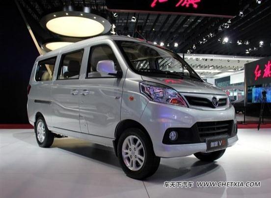 客车型福田伽途v5定位高于v3 宜家宜商   福田汽车首款微面伽高清图片