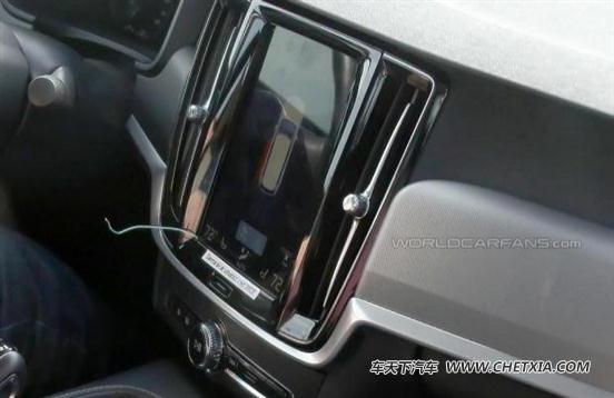 先在中国上市 沃尔沃S90内饰实车图高清图片