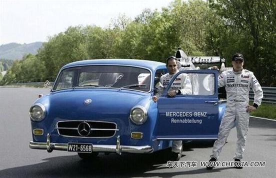 奔驰史上最可爱小卡 流浪汉迷你运输车