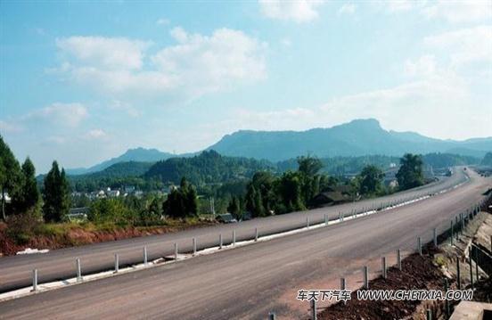 南广高速进展 营山至广安月底试通车