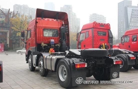 中国一汽解放年会 一汽青岛车型v力十足