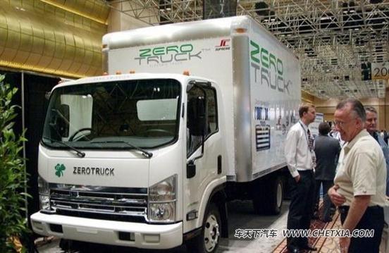 zero truck是在五十铃n系列底盘的基础上研发的,与先前的那款电动皮卡