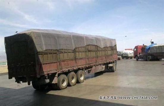 北京:房山区大型货车运输秩序专项整治
