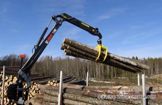 起重机的新技术运用完美的解决了木材运输过程中装卸效率低下的问题.