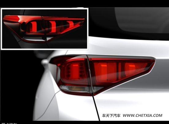 瑞虎尾灯的设计也富有科技感,融入了led光源,其内部结构类似虎爪抓痕