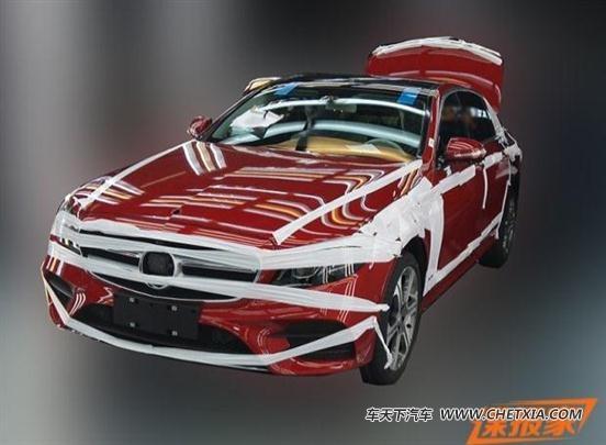 【图】车身结构变化 奔驰新e级长轴距版细节图