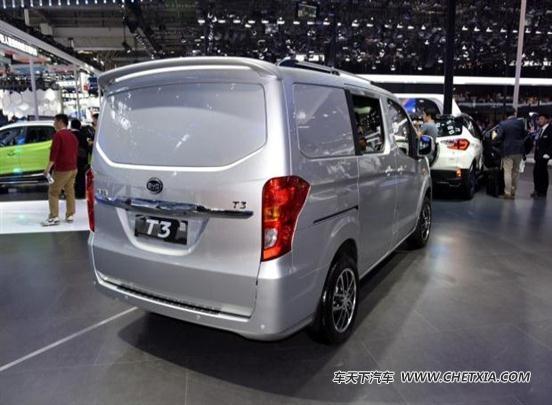 2016北京车展:比亚迪t3纯电动物流车