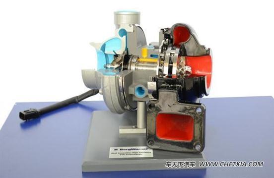 两级涡轮增压技术图片