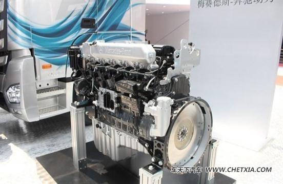 北京车展:三款超级卡车+1款奔驰发动机图片
