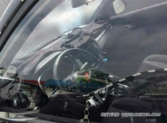 或定名RX3 疑似荣威全新小型SUV谍照高清图片