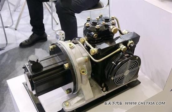 因此需要额外的电动机来驱动打气泵和转向助力泵,瑞立推出的几款打